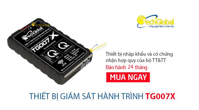 Thiết bị giám sát hành trình hợp chuẩn BGTVT TG007X mới nhất 2018