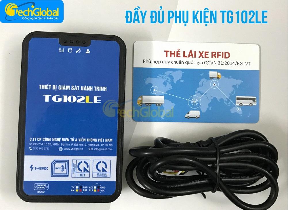 Thiết bị giám sát hành trình TG102LE của Techglobal cung cấp