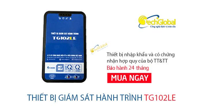 Thiết bị giám sát hành trình TG102LE hợp chuẩn BGTVT quy định